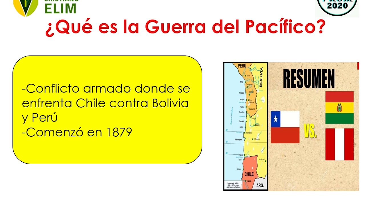 Guerra Con Chile Youtube