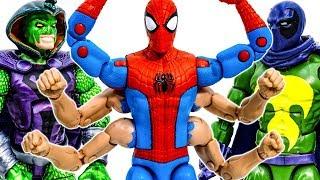 Шість Людина-Павук Колекція Іграшок Руку! Перемогти зеленого гобліна мародера футів ! Вау - іграшка Марвел