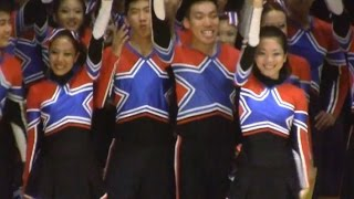 TEAM MALAYSIA - 1st SouthEast Asia Cheerleading Open 2011
