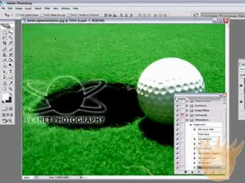 Watermark Your Photos FAST! :: Photoshop Tutorial