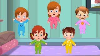 Five Little Babies | Nursery Rhyme | kids songs | baby rhyme