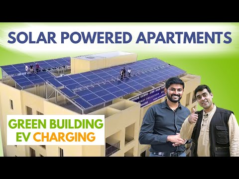Solar Powered Apartments | Electric Vehicle Charging