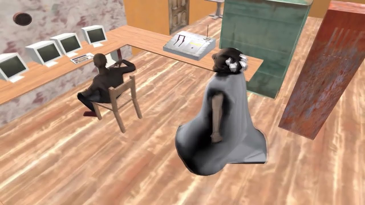 Granny visits The Twins for Cake - Funny Animation