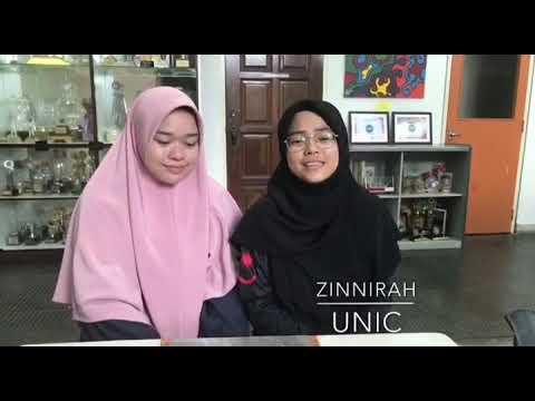 Zinnirah Unic - Cover