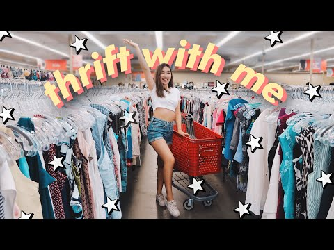 THRIFT WITH ME For Back To School | JENerationDIY