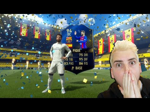 PIQUE TOTY IN A PACK!! NON CI CREDO AL PRIMO PACCHETTO! - EPIC TOTY PACK OPENING FIFA 17 ULTIMATE TE