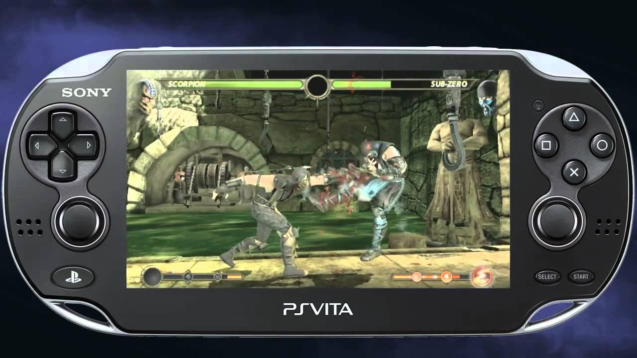 Mortal Kombat 9-PS Vita Gameplay