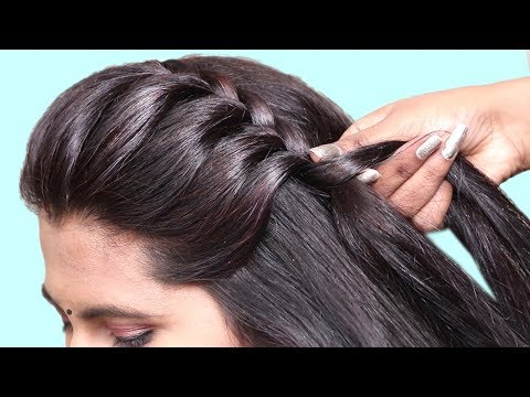 Beautiful Hairstyle for Wedding/party/Function    Different Hairstyles for girls    Hair Style Girl