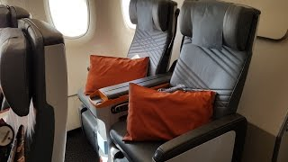 Singapore Airlines Premium Economy A380: SQ Part 2