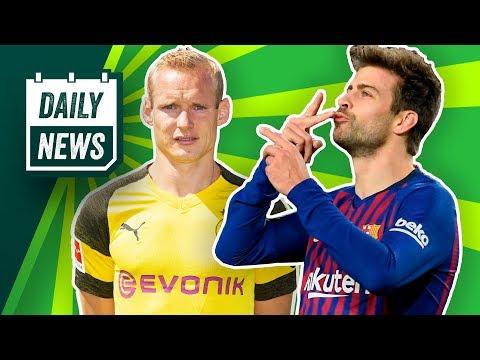 Pique bald Barca-Präsident? Kagawa zum VfB Stuttgart! Füllkrug fällt aus & Wallace sonnt sich!
