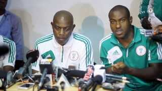 Nigeria vs. Malawi Post-game Interview - Stephen Keshi and Vincent Enyeama