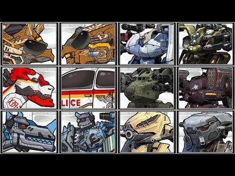 War Robot Dino Robot Corps Full Play 1080 HD