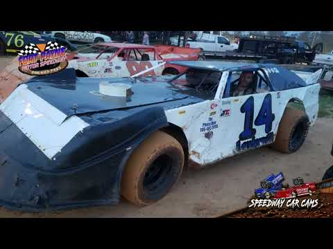 #14 Jerry Loudermilk - B-Hobby - 9-22-18 Fort Payne Motor Speedway - In Car Camera