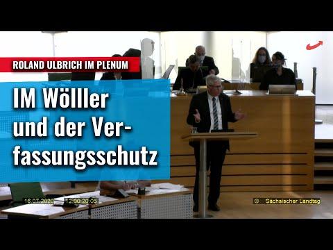 Innenminister Wöller und die Beobachtung der AfD durch den VS - Roland Ulbrich AfD dazu im Plenum