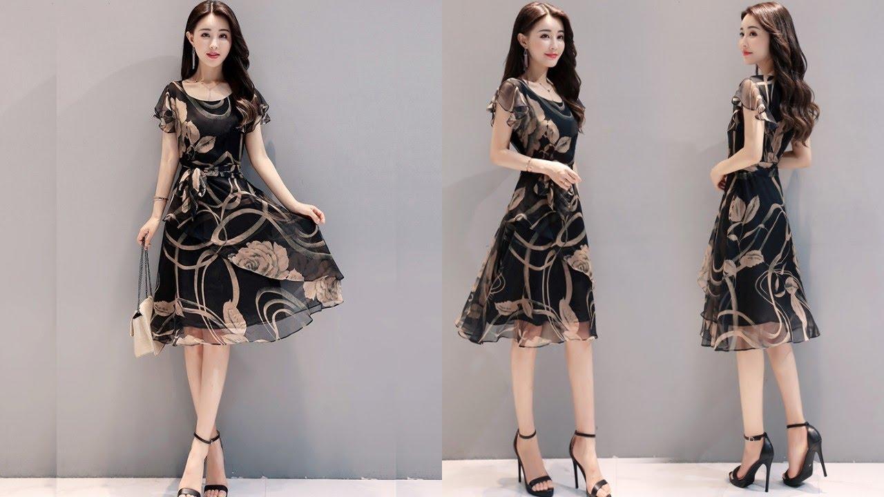 Шифоновые летние платья – легкие, струящиеся, прекрасно подчеркивают все достоинства женской фигуры. Какие фасоны и модели в моде?