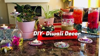 DIY Diwali Decor || How to decorate your home for Diwali || Easy last minute Decoration Ideas 2017