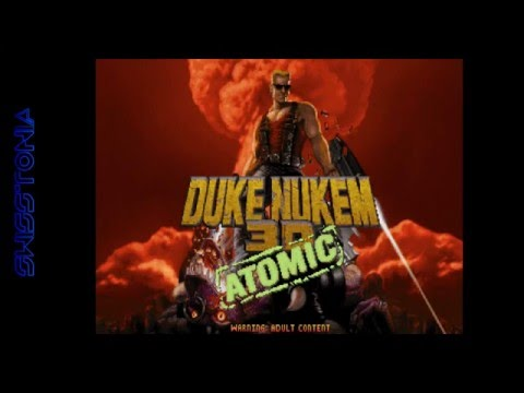Classic Game Gameplay: Duke Nukem 3D Atomic Edition --- 1996, 3D Realms, MS-DOS