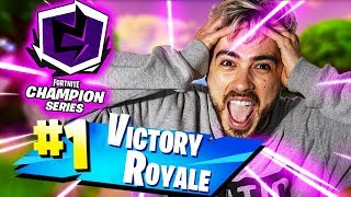 REAL LEGEND VICTORY à THE TRIO CUP! ITA FORTNITE