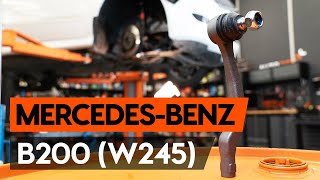 Fitting Spotlight Bulb MERCEDES-BENZ B-CLASS (W245): free video