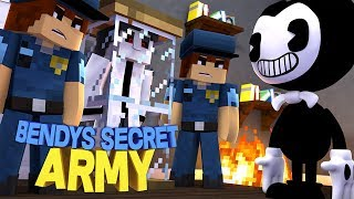 BENDY HAS A SECRET ARMY TO TAKE OVER THE CITY | Minecraft Adventure