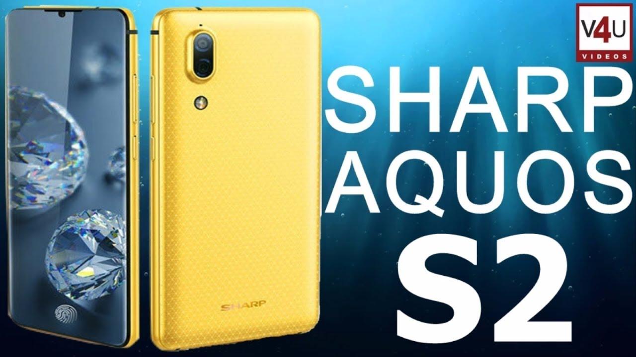 Sharp Aquos S2 Full Specifications, Price -4K Bezel-less Display &  In-Screen Fingerprint Scanner!