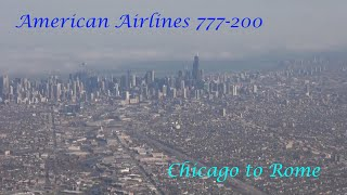 American Airlines 777-200 Chicago O
