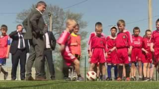 Андрій Павелко відкрив футбольний майданчик на Вінничині