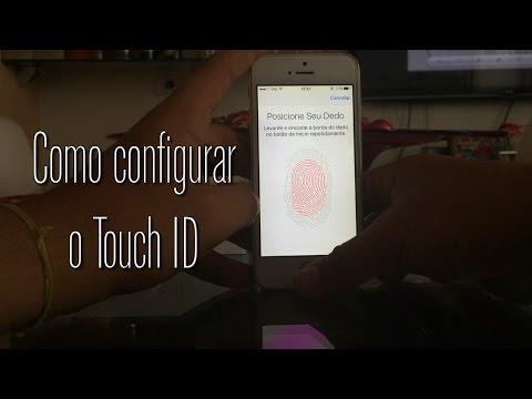 Como configurar o Touch ID no iPhone