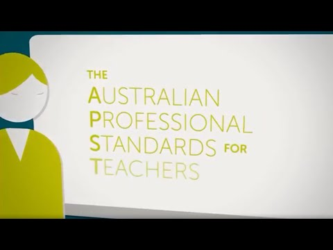 Animation - The Australian Professional Standards for Teachers