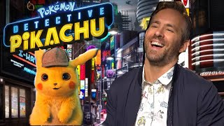 Ryan Reynolds on the adults-only blooper reel from Pokémon Detective Pikachu