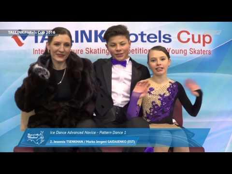 Tallinn Championships 2016 Winners! Jessenia Tsenkman - Marko Jevgeni Gaidajenko