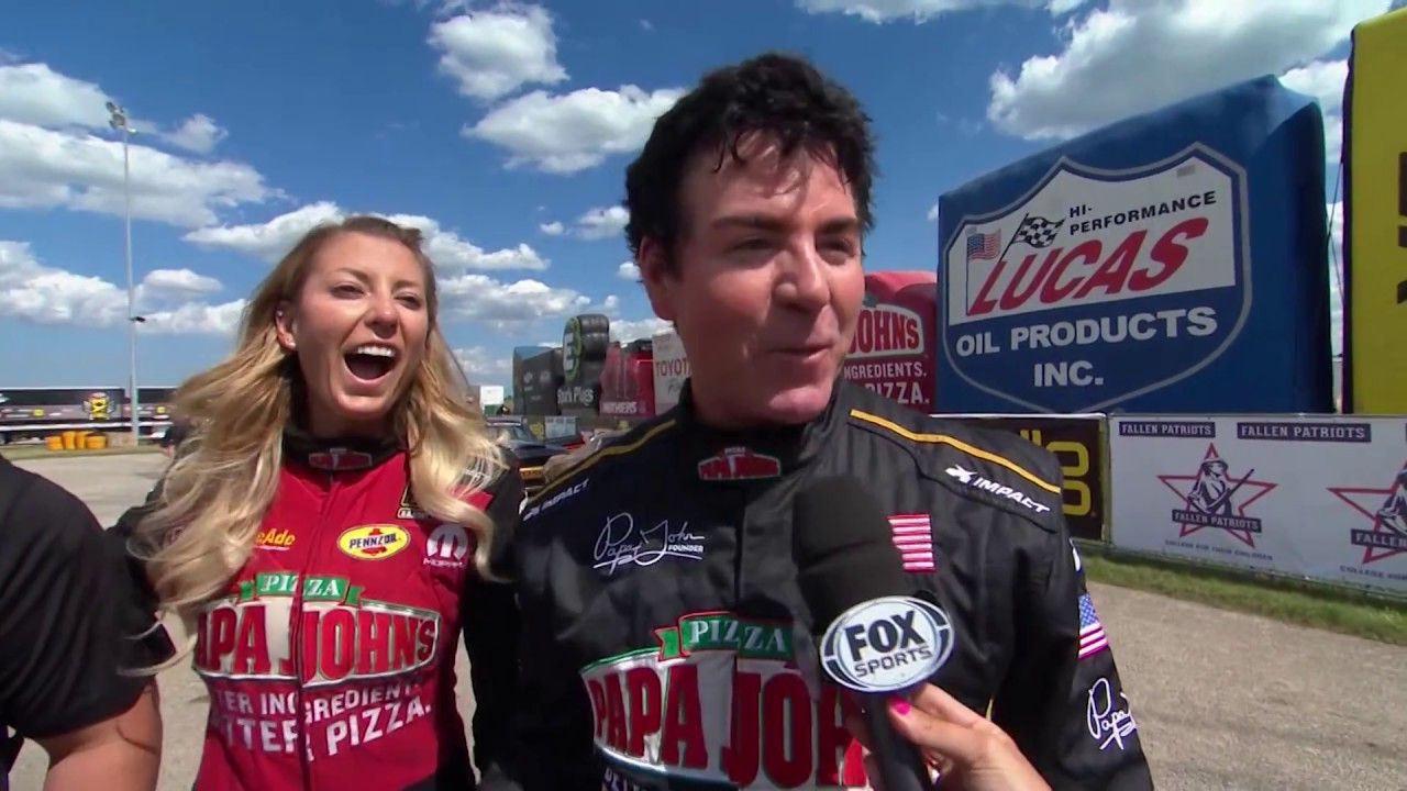 leah pritchett and papa john schnatter face off for