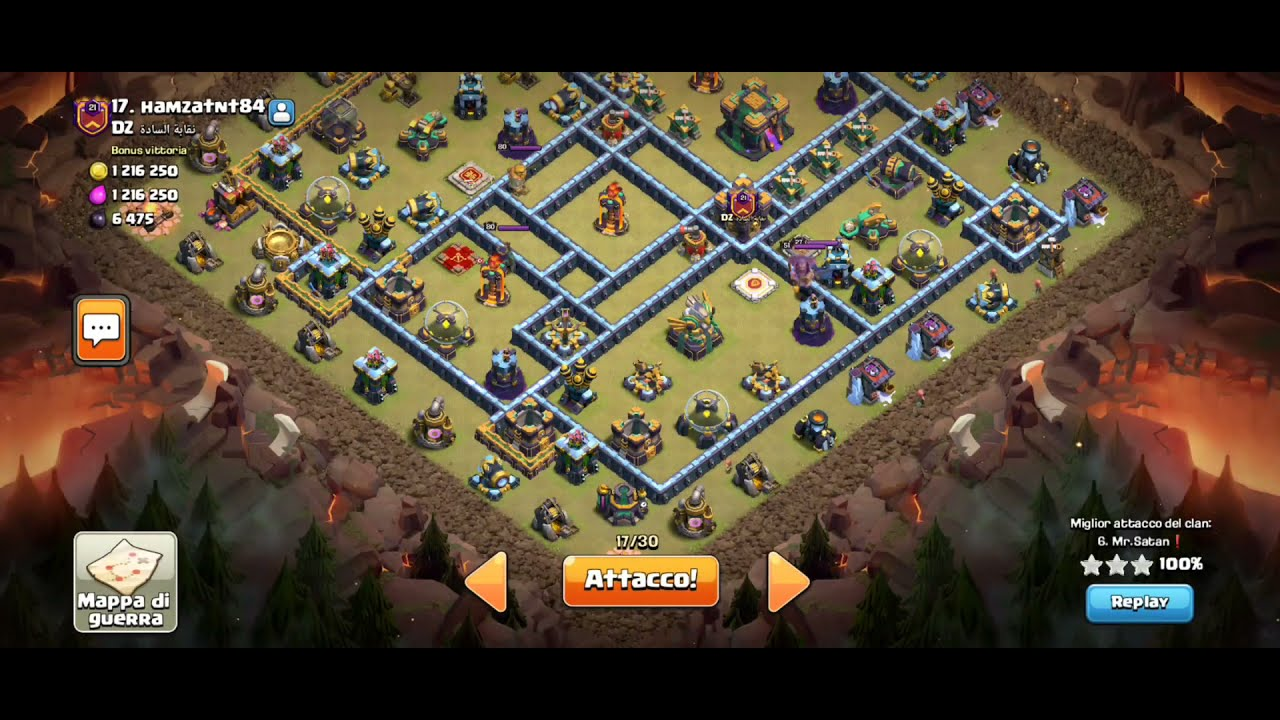 CLASH OF CLANS FANTASTIC 3 STARS TH14 INFERNO DRAGON STRATEGY