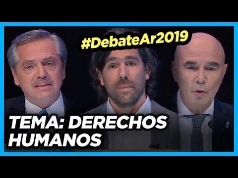 #DebateAr2019 TEMA: Derechos Humanos