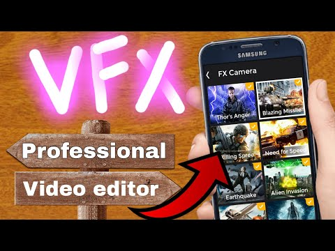 VFX video effect and Editor App 2018 | professional Video editing App | VFX effect