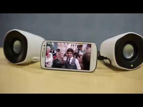 6caed8ee2d7 Logitech Z120 Stereo Speaker - YouTube