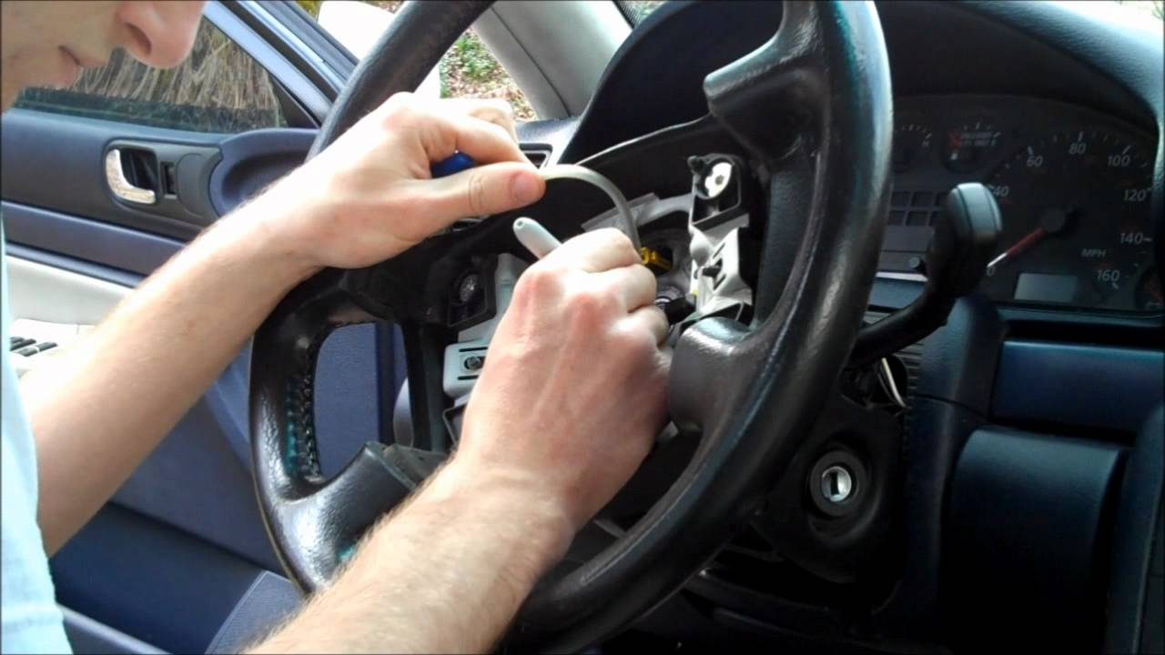 Audi Light Switch Removal ~ 1998 A4  YouTube