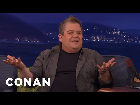 How Patton Oswalt & His Daughter Are Coping With His Wife's Passing  - CONAN on TBS