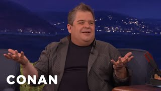 How Patton Oswalt & His Daughter Are Coping With His Wife's Passing  - CONAN on TBS by : Team Coco