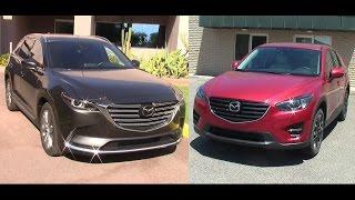 2016 Mazda CX-9 & Mazda CX-5 Review