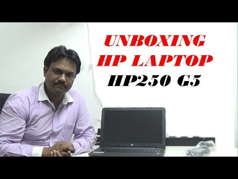 UNBOXING HP Laptop HP250 G5 by Various Topics
