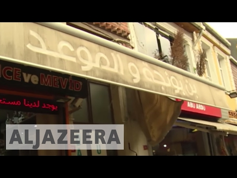 Syrian refugees establish businesses in Istanbul