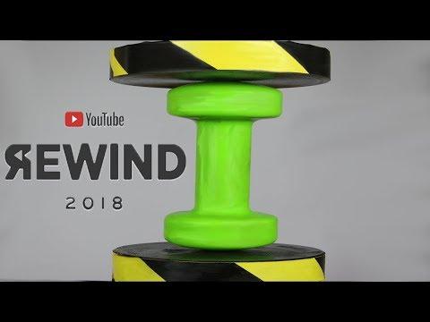 Hydraulic Press Youtube Rewind 2018