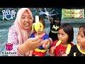 What if Anak Balita Jadi Superhero 💖 Beli Es Krim PinkFong Baby Monkey Banana🍦Paddle Pop Ice Cream