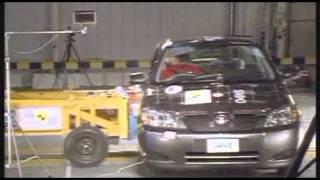 Crash test Toyota Corolla 5dr 2002