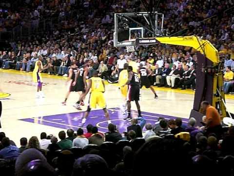 Lakers Blazers - Tipoff 2008-09 Season