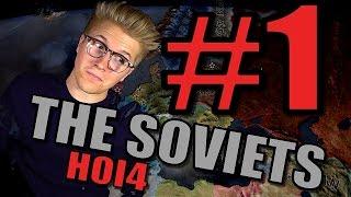 Hearts of Iron 4 – Soviet Union 1936 Gameplay [HOI4 World War 2] Part 1 - Spreading Communism