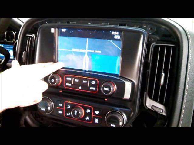 Adding Factory Navigation To A 2014 Gmc Sierra Youtube