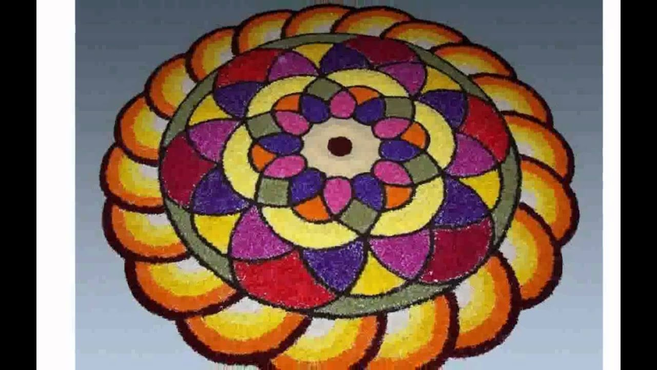 Onam Flower Decoration Youtube