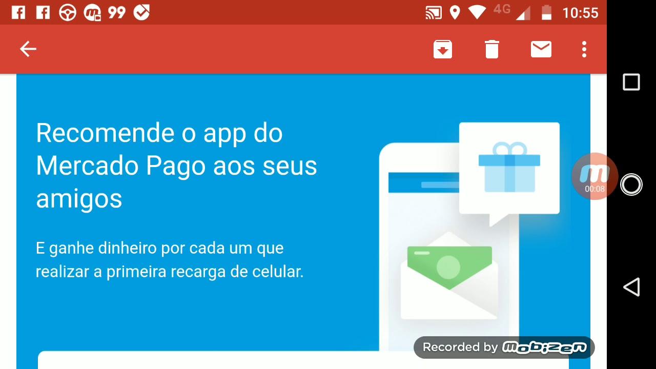 Mercado Pago - Ganhe recarga de Celular - Recomende e Ganhe Dinheiro  Atualizado 2018 d82bc39e6bd45